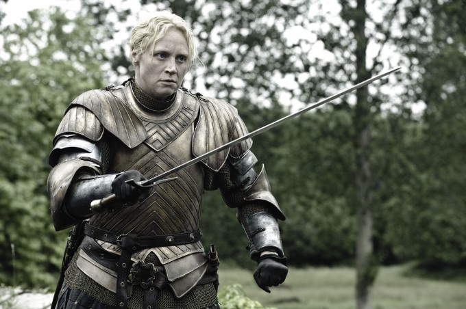 Game Of Thrones, Series 3 EP302 Featuring Gwendoline Christie as Brienne of Tarth © HBO Enterprises