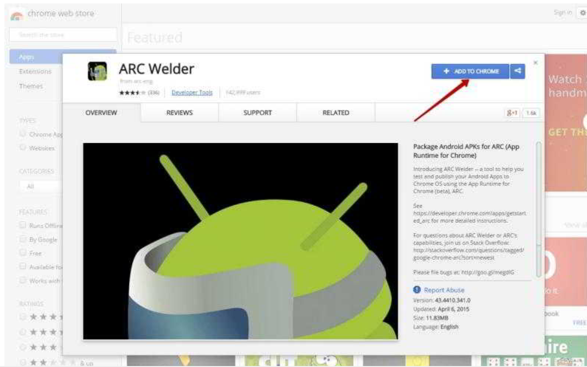 download arc welder on pc for easy android