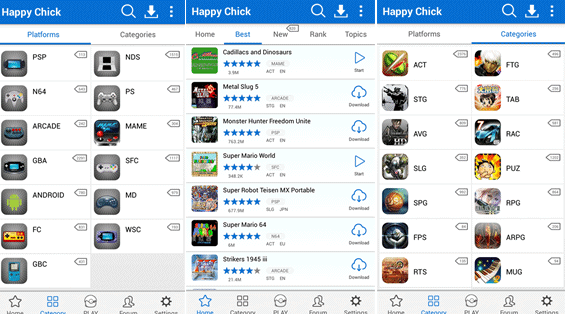 Play PlayStation Portable Games on iPhone using Happy Chick