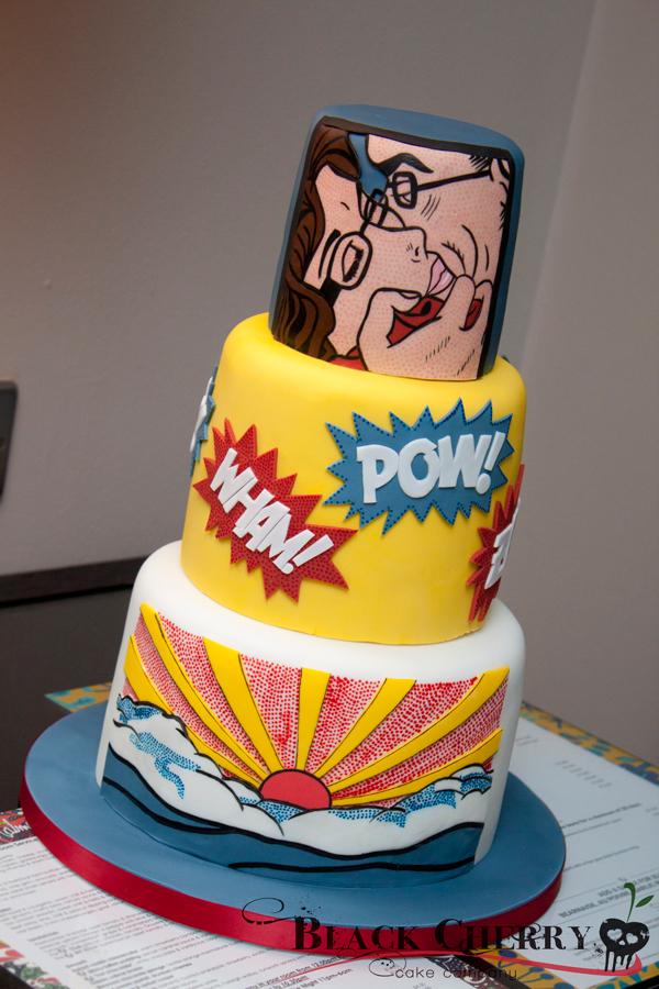 Pop Art Cake Decorations : What Kind of Geek Are You? 50+ Cool Nerd Cakes - InfiniGEEK