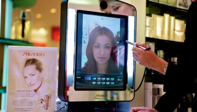 Shisedio-Makeup-Mirror-augmented-reality-marketing-by-brands-in-real-life-examples