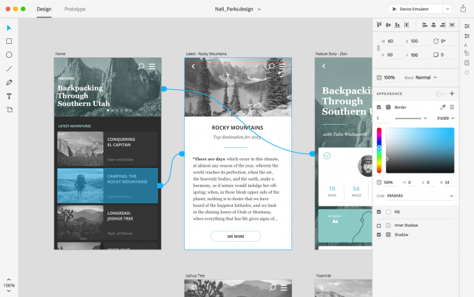adobe-project-comet-tool-for-user-experience-prototype-design