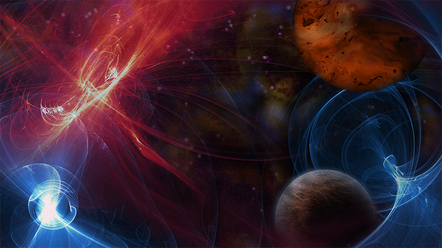 Out Of This World Effects And Animations With Abstract Patterns Using Amberlight 2