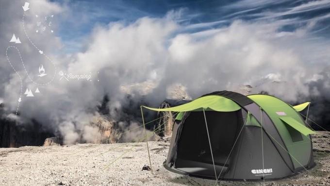 camping-popup-tent-cinch-best-geek-gadgets-outdoors