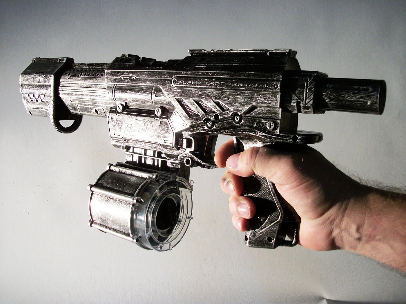 Custom painted Nerf Strongarm