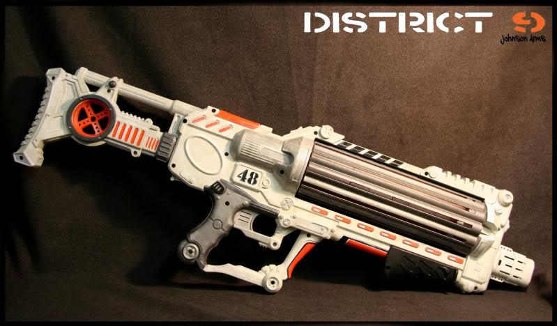 Team Fortress 2 - Sasha Nerf gun by DenWingZero ...