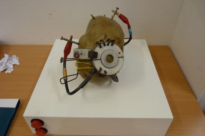 Toys Geek Gadgets : Diy gadgets geek light up talking potato glados portal