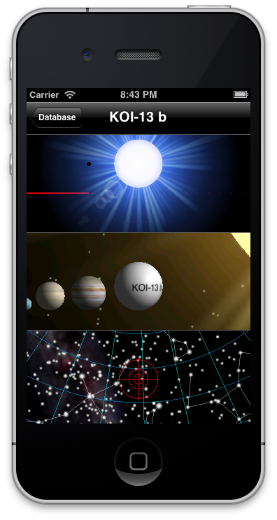 Exoplanet App iPhone - Pics about space