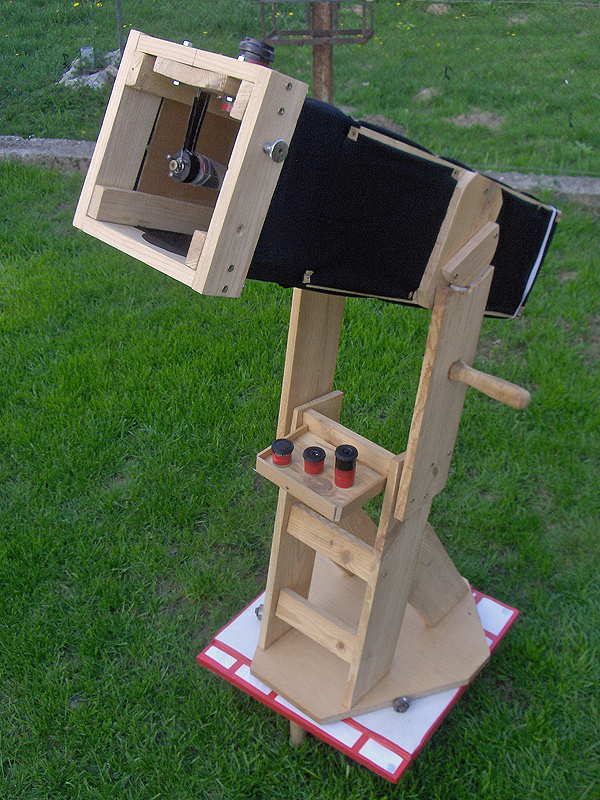How To Make Reflector Telescope At Home