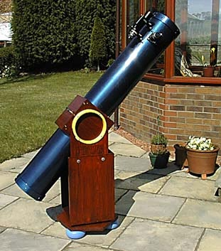 how to build a truss dobsonian telescope
