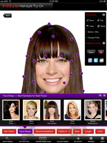 Peachy Top 10 Apps That Let You Try On Different Haircuts Infinigeek Short Hairstyles Gunalazisus