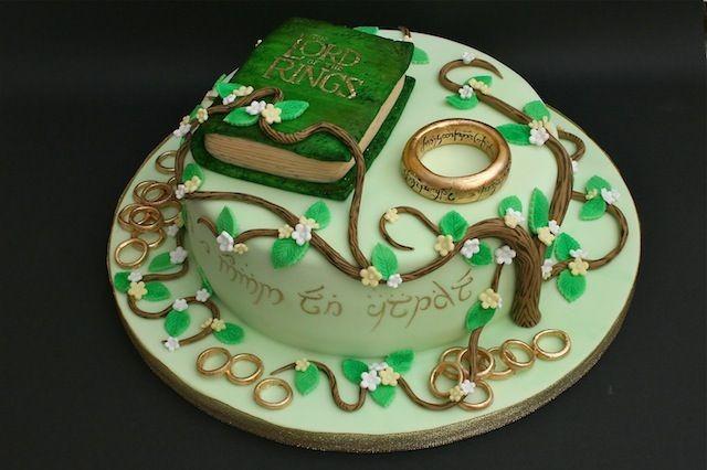 Hobbit Wedding Cake