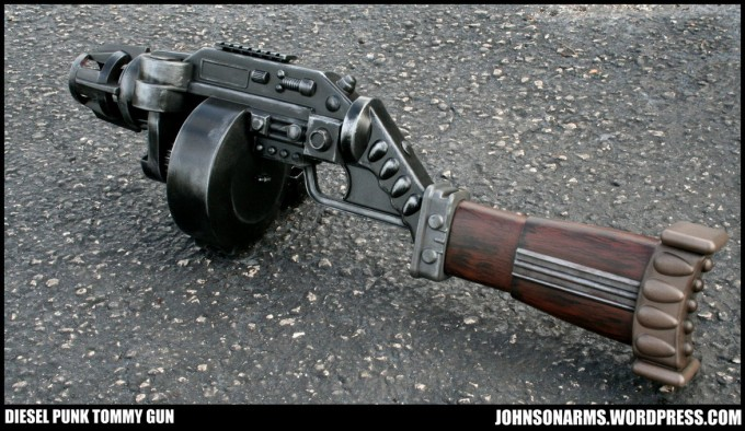 Ok not really a    nerf    gun  but a truly epic toy gun mod Dieselpunk Weapons