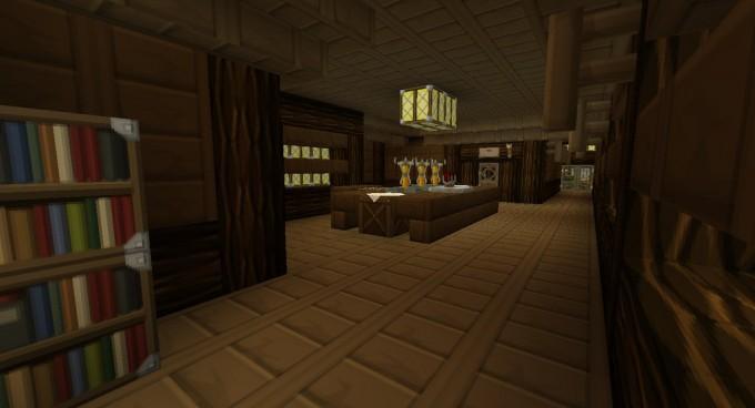 200 best minecraft creations infinigeek for Minecraft foyer ideas