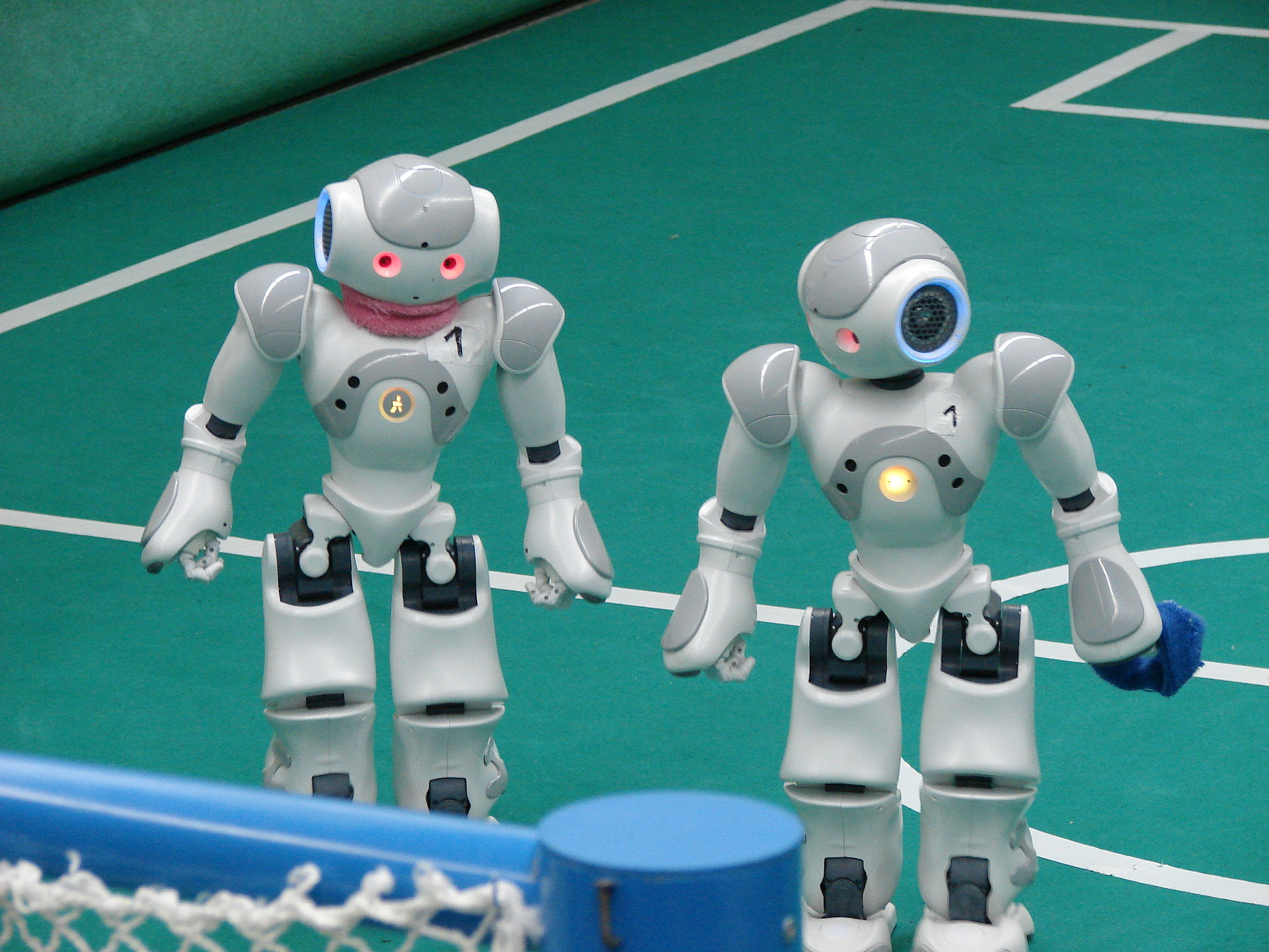 What's That? Robots Are Invading The World Of Sport Too? Aaahh!
