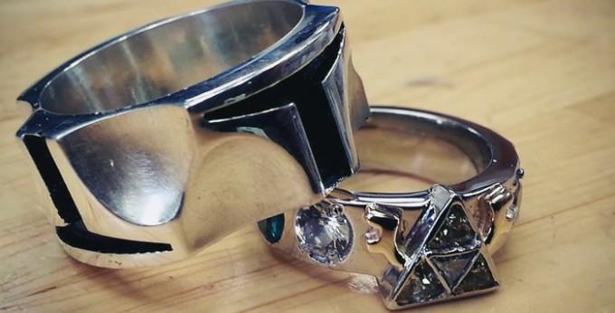 awesome - Gamer Wedding Rings