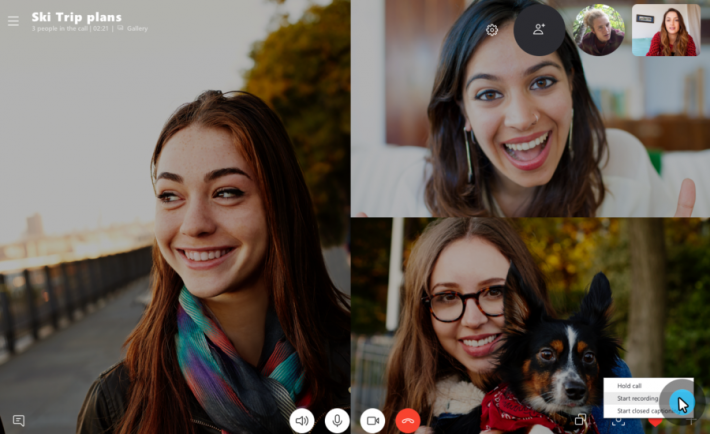 How to Record and Save Important Skype Business Video Calls