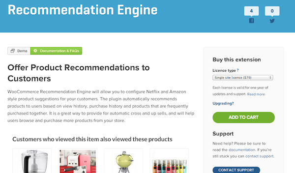 Woo-Recommendation-ecommerce-plugin