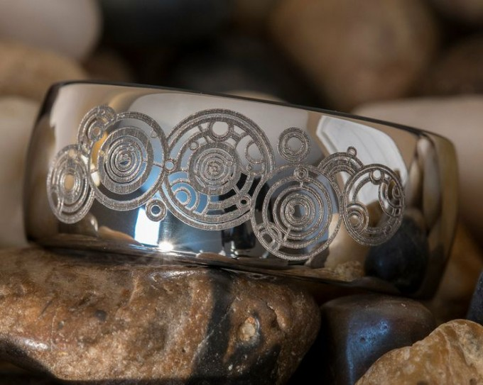 Dr. Who Fans! The Gallifreyan ring