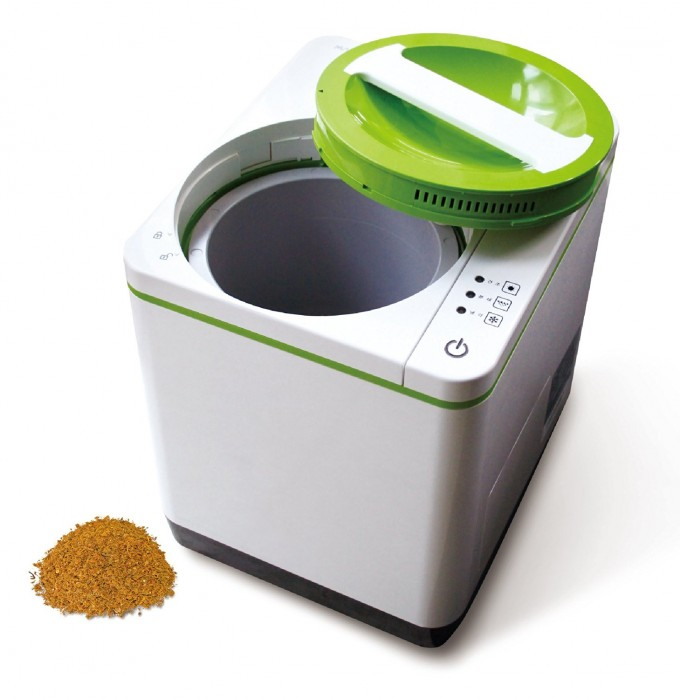 food-recycle-composter-make-fertalizer-from-food-scraps-diy-home-appliance-tech