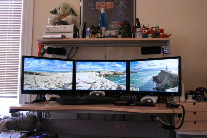 geek-gaming-pc-man-cave-setup