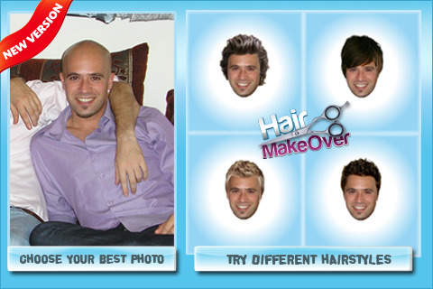 new hair style app top 10 apps that let you try on different haircuts 7686 | hair makeover for men new hairstyle app finder