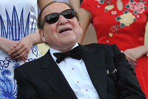 Chairman and CEO of Las Vegas Sands Corporation Sheldon Adelson