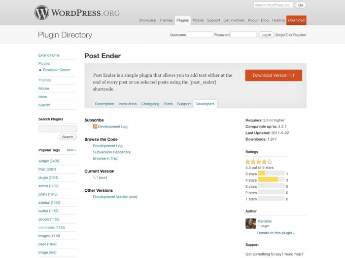 postender-wordpress-reminder-plugin