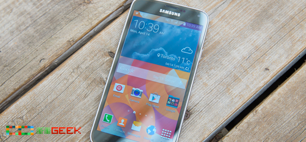 Samsung Galaxy S5 From Close Quarters