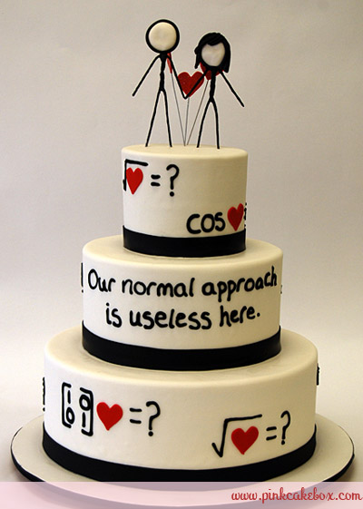 Geeky Weddings Take the Cake!